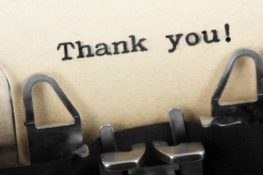 Thank You Thursday – Even Though There Aren't Enough Words