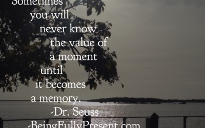 BFP Moment: Know the Value of a Moment