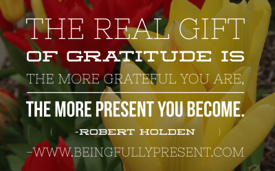 BFP Moment: Be Grateful. Be Present.