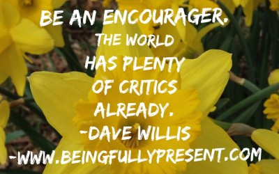 BFP Moment: Be An Encourager