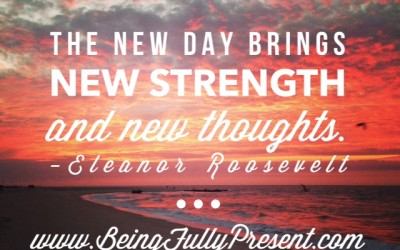 BFP Moment: New Strength, New Thoughts