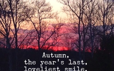 BFP Moment: Welcome Autumn!