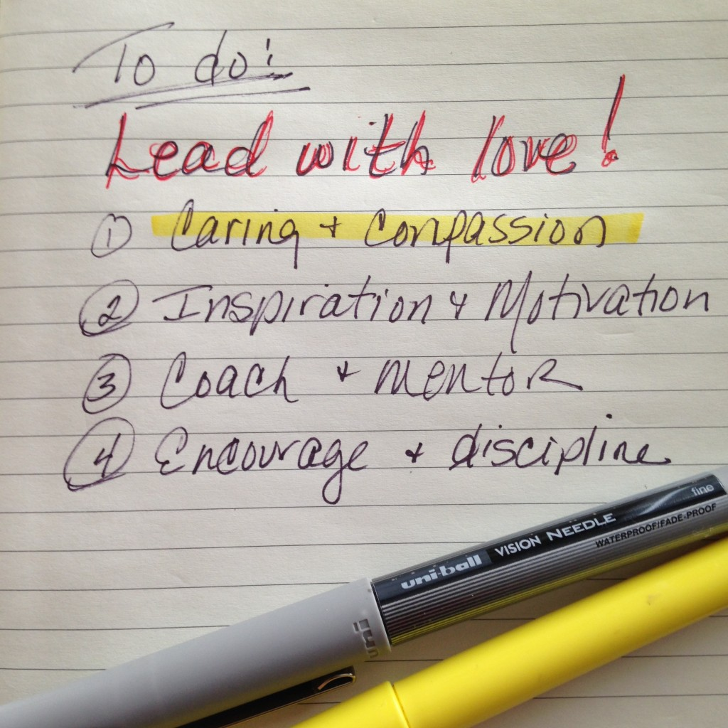 Lead With Love Part One