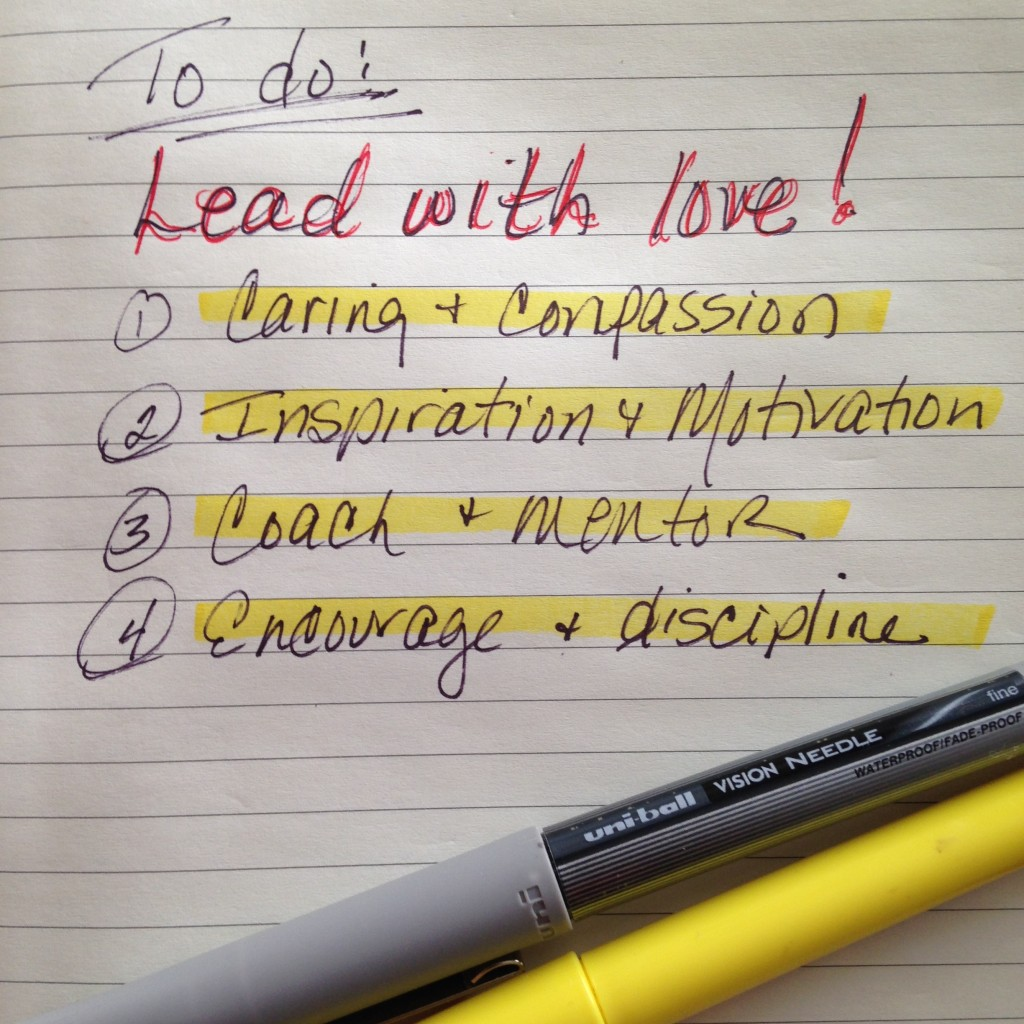 Leading With Love Part Four