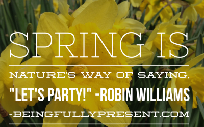 BFP Inspiration Moment on the Spring Party!