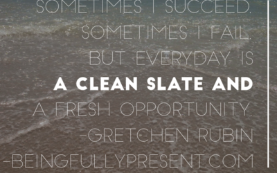 BFP Inspiration Moment on A Clean Slate