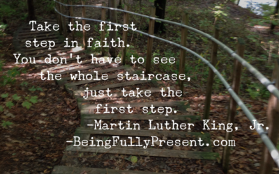 BFP Moment on Taking the First Step