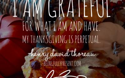 BFP Inspiration Moment on Perpetual Gratitude