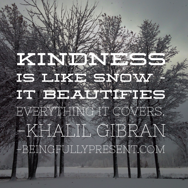 BFP Inspiration Moment on Kindness