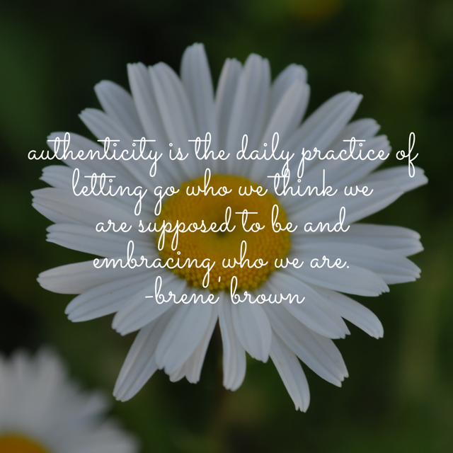 BFP Inspiration Moment on Authenticity